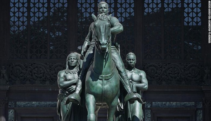 Removing Teddy Roosevelt's statue is the worst kind of pandering