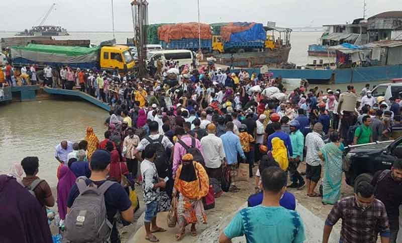 COVID-19: People leaving Dhaka as govt declares lockdown from Monday