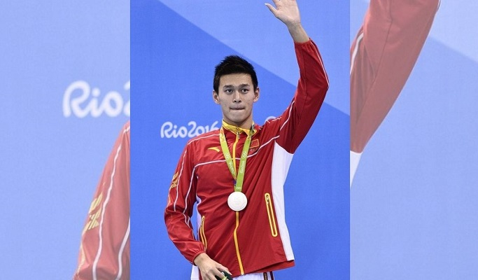 China's Star swimmer fails doping test, banned for four years
