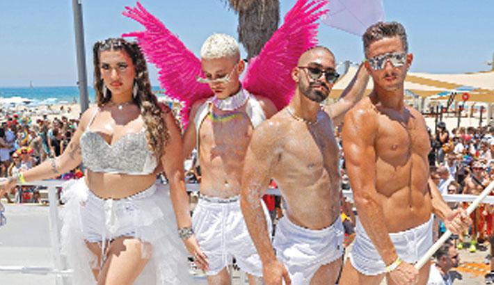 Tel Aviv defies virus to party with Pride