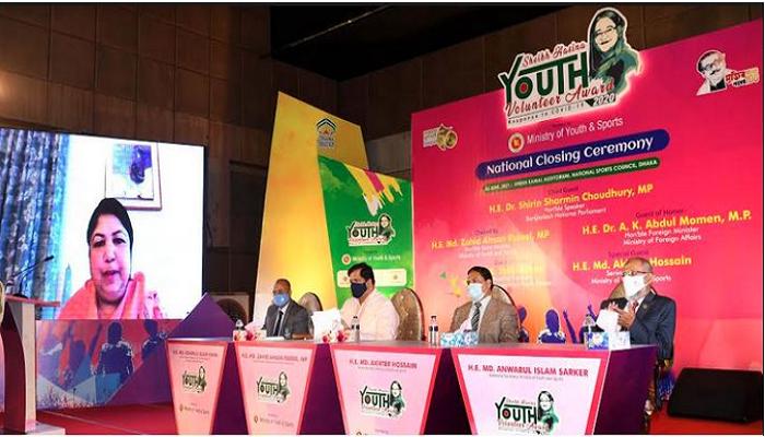 Sheikh Hasina Youth Volunteer Award to inspire youth: Speaker