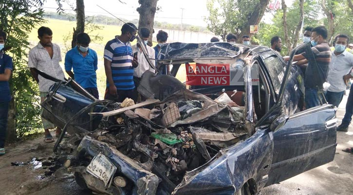 4 cattle traders killed as truck hits microbus in Jashore