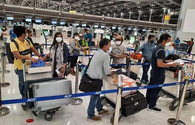 37 more people return to Dhaka from Thailand by special flight