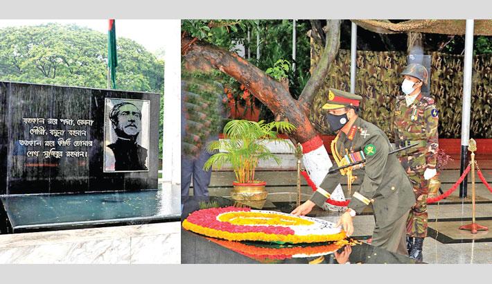 New army chief pays tribute to Bangabandhu