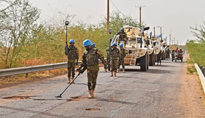 Heroics of Bangladesh army in Mali