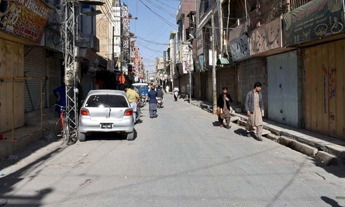 Partial strike observed in Balochistan on call of opposition parties