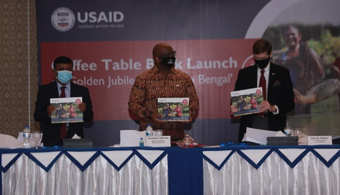 """USAID Launches Photography Book on """"Golden Jubilee of Golden Bengal"""""""