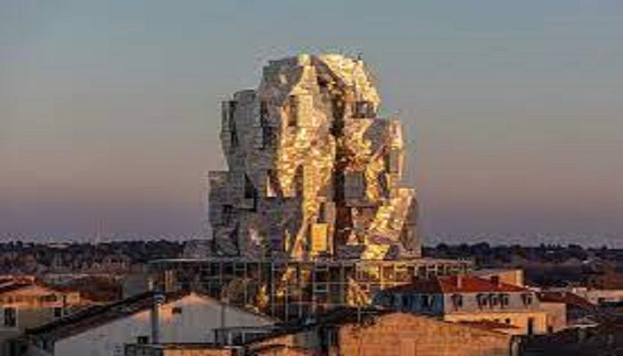 Futuristic Gehry tower opens in World Heritage Arles