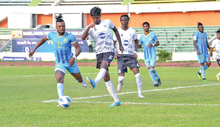 Dhaka derby ends in a draw