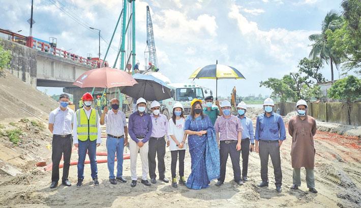 Dhaka bypass expressway's work progressing well: PPPA