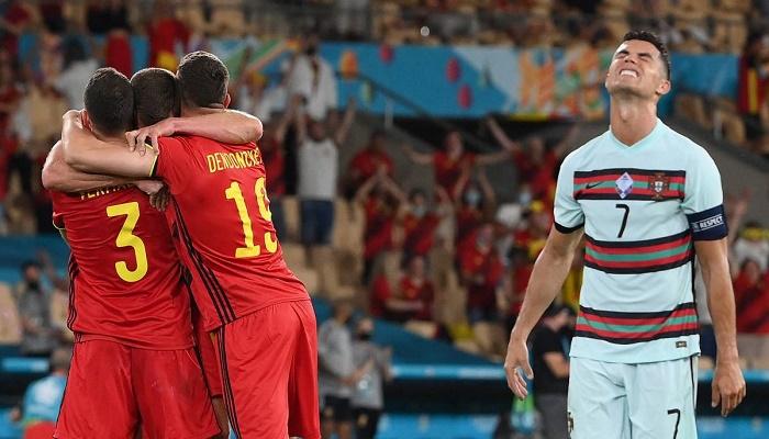 Belgium knock out Ronaldo and Portugal, Czechs end Dutch Euro 2020 dreams