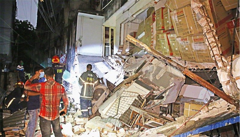 Moghbazar blast: Police file case against unknown persons