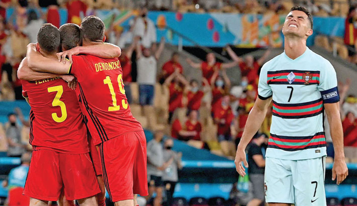 Belgium knock out Portugal; Czechs end Dutch dreams