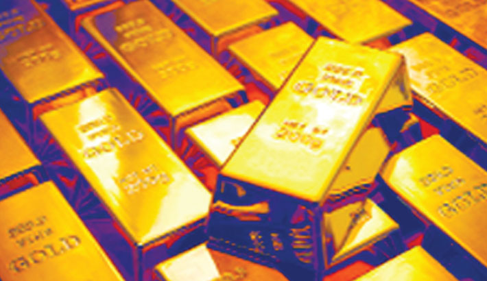 Gold hits one-week low on dollar bounce