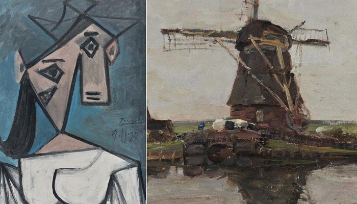 Picasso painting found in Athens years after gallery heist