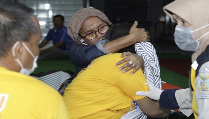 Ferry sinks in rough seas near Bali; 7 dead and 11 missing