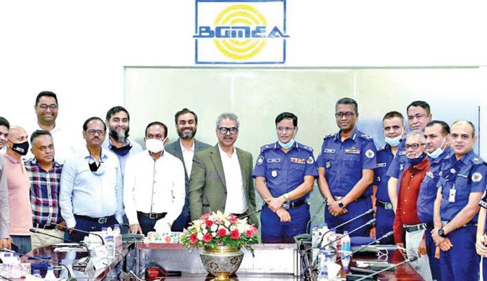 BGMEA seeks coop from industrial police during lockdown