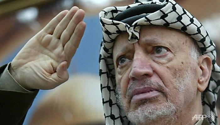 Europe court refuses to hear case on Arafat death