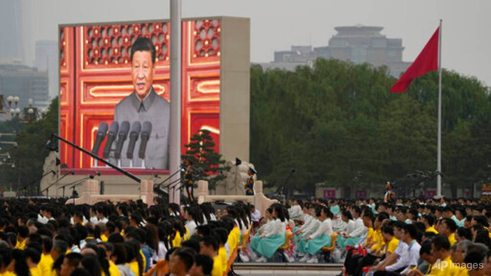 Xi hails 'irreversible' rise of China at 100th birthday of Communist Party