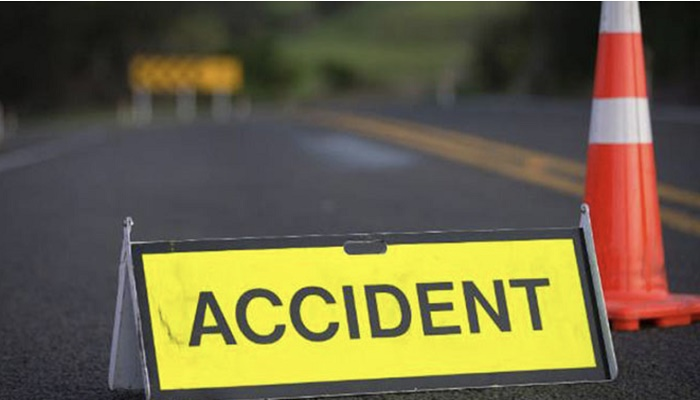2 killed as truck fell off the road in Moulvibazar