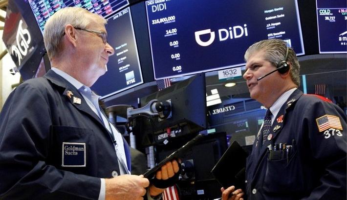 Chinese ride-hailing giant Didi Global makes $68bn US debut