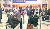 Test team reaches Harare
