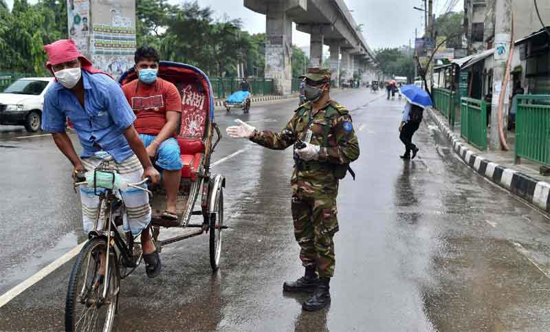 Second day of strict lockdown going on in capital amid rainy weekend