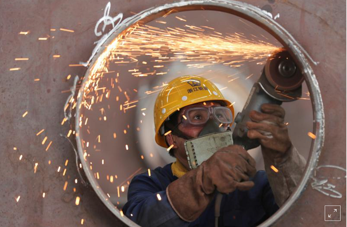 China June factory growth slows on COVID-19, supply chain snags -Caixin PMI