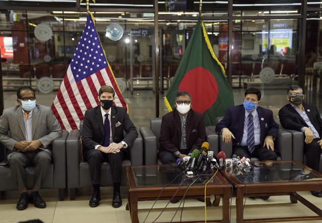 US applauds shipment of 2.5m Moderna vaccines to Bangladesh