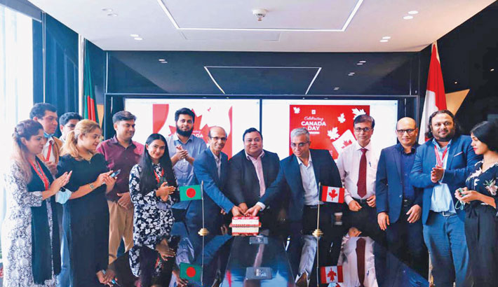 Canada Day celebrated at CUB