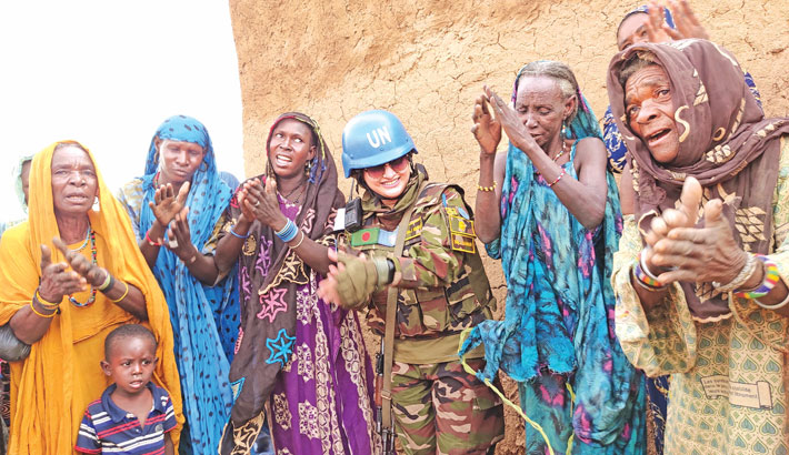Bangladeshi female peacekeepers play vital role in UN missions