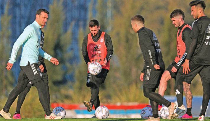 Confident Argentina eye semis in Copa America