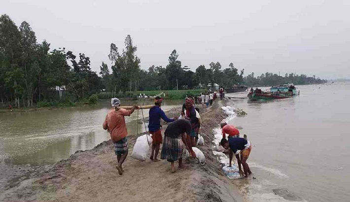 Over 50 villages flooded due to heavy rains in Kurigram