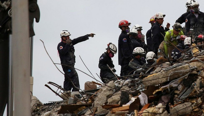 Miami building collapse: Firefighter's 7-year-old daughter found dead