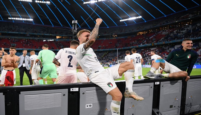 Italy to face Spain in Euro 2020 semi-finals after beating Belgium