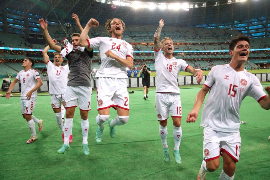 Denmark hold off Czech rally to keep Euro 2020 dream alive