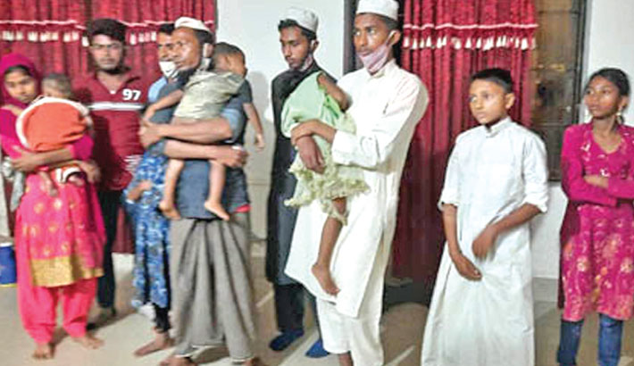 14 Rohingya people detained in Moulvibazar