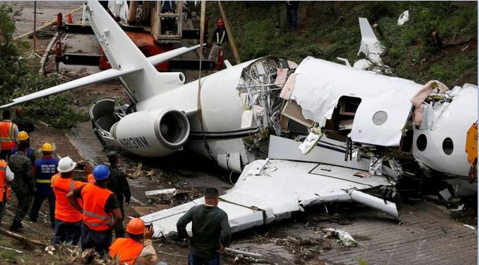 Six die in crash of private plane in Haiti