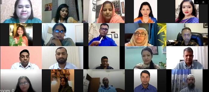 Effective teaching-learning thru virtual platform stressed