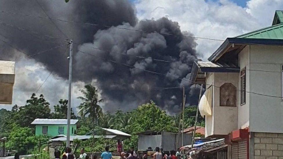 Philippines military plane crash kills at least 45 but dozens survive (Updated)