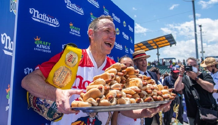 Nathan's Hot Dog Contest 2021: Joey Chestnut wins for 14th time
