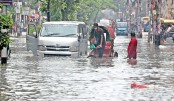 City dwellers suffer for waterlogging