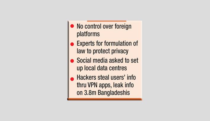 Social media run sans law
