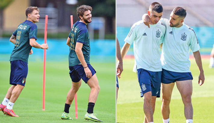 Italy, Spain ready for another Euro classic