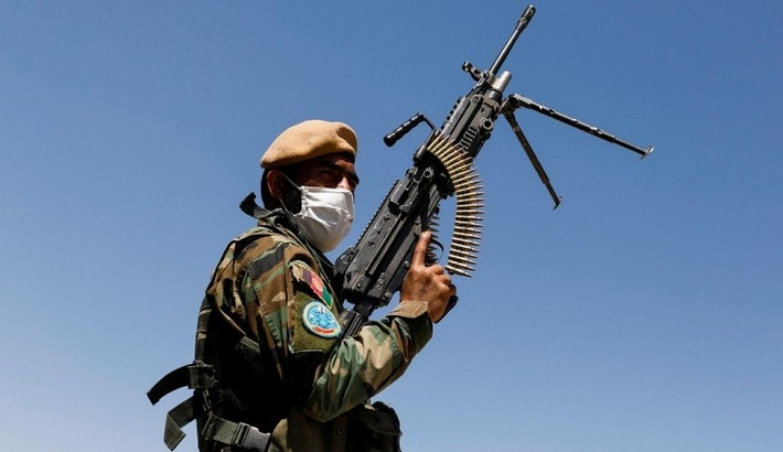 Afghan troops flee country to Tajikistan after Taliban clashes