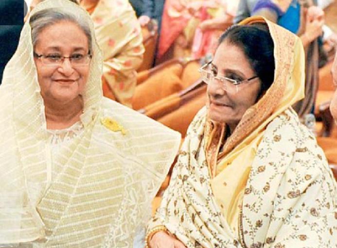 PM greets Raushan, GM Quader ahead of Eid