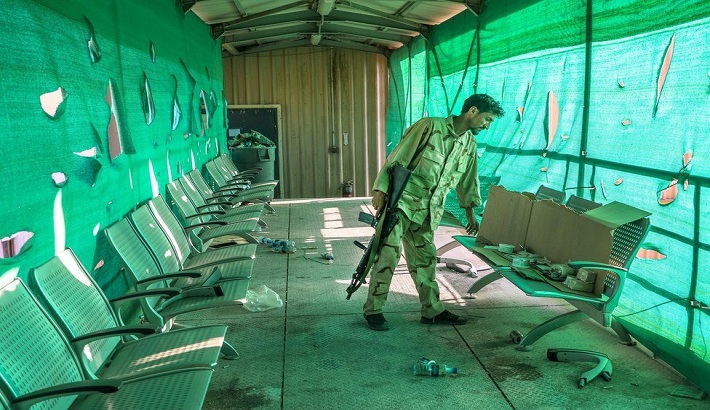 US left Bagram Airbase at night with no notice