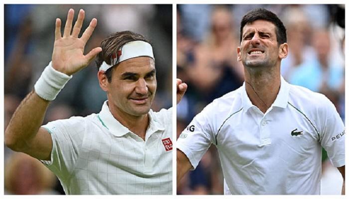 Djokovic, Federer into Wimbledon quarter-finals as first-timers shine