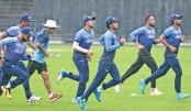 ODI players start practising amid corona scare
