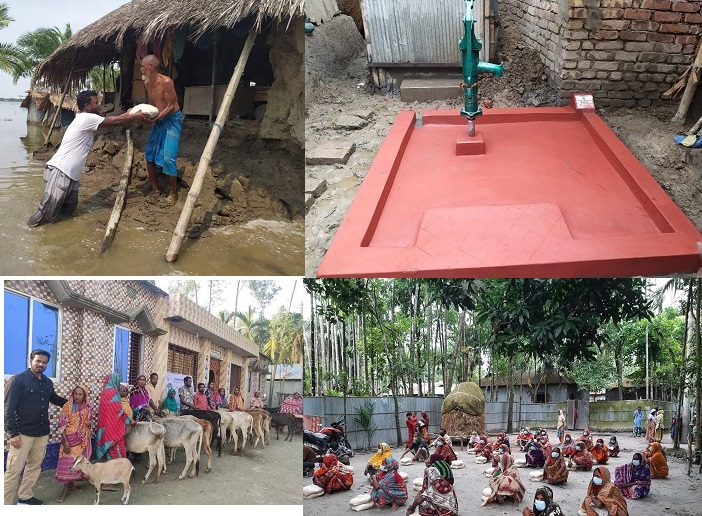 Universal Amity: a name of hope for the underprivileged community